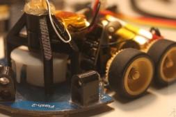 2017年电脑鼠四轮红外摄像头下运行测试